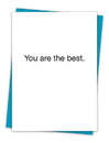 Christian Brands TA-301 Greeting Card - You are the best