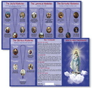Ambrosiana TC002 How To Pray The Rosary Pocket Card