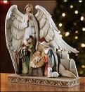 Christian Brands TC616 Nativity with Angel Figurine