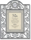 Heartfelt TC809 For You Daughter Psalm 91:11 Table Clock