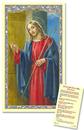 Ambrosiana TS055 Christ Knocking For Those Who Live Alone Holy Card