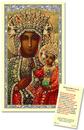 Ambrosiana TS067 Our Lady Of Czestochowa Laminated Holy Card