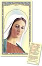 Ambrosiana TS068 Our Lady Of Medjugorje Laminated Holy Card