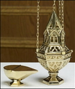 Sudbury TS948 Ornate Censer And Boat Set