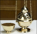 Sudbury TS949 Hanging Censer And Boat Set