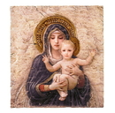 Avalon Gallery VC694 Bourguereau Madonna And Child Icon Plaque