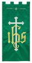 RJ Toomey VC730 Maltese Jacquard Banner: Green