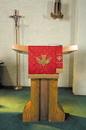 RJ Toomey VC744 Maltese Jacquard Bookmark:  Red