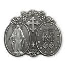 Christian Brands VC783 Blessed Virgin Mary Visor Clip