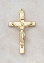 Creed VP1 Creed&Reg; 24Kt Gold Plate Over Sterling Crucifix