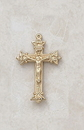 Creed VP202 24Kt Gold Plate Over Sterling Crucifix