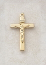 Creed VP235WC 24Kt Gold Plate Over Sterling Crucifix