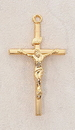 Creed VP7005 24Kt Gold Plate Over Sterling Crucifix