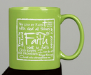 Gifts of Faith VS185 Mug-Faith, Written Reflections