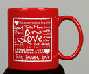 Gifts of Faith VS187 Mug-Love, Written Reflections