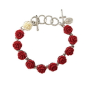 Creed WC038 Rose Rosary Bracelet