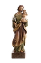 Avalon Gallery WC061 St. Joseph and Child Val Gardena Statue