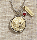 Creed WC070 Vintage Blessings St. Michael Necklace W/ Silver Chain