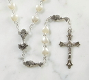 Creed WC141 First Communion Heart Rosary