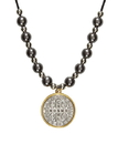 Creed WC550 Our Lady Of Grace Two Toned Pendant