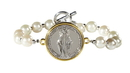 Creed WC552 Our Lady Of Grace Two Toned Bracelet
