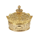 Sacred Traditions WC614 Gold Crown Box With (13 Piece) Arras Coin Set