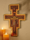 Christian Brands WC776 San Damiano Crucifix Marco Sevelli Florentine Plaque