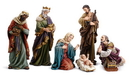 Christian Brands WC898 7 Piece Hand Painted Nativity Set