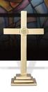 Sudbury YC502-15 Classic Altar Cross With Ihs Emblem