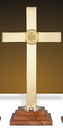 Sudbury YC511-24 Chapel Altar Cross With Ihs Emblem