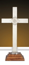 Sudbury YC514-24 Brighton Altar Cross With Ihs Emblem