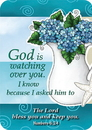 Christian Brands YC873 Verse Card God is Watching