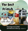 Christian Brands YC881 Shape Magnet Best Friends
