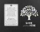 Glowing Treasures- Love Grows Here- Frame/Lightbox