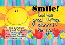Christian Brands YS586 Pass It On Smile! God Has Great Things