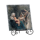 Avalon Gallery YS867 Song Of Angels Tile Plaque With Wire Stand