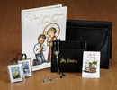 Sacred Traditions YS951 M.I. Hummel First Communion Leatherette Wallet Set - Boy