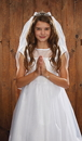 Sacred Traditions YT074 Crystal Tiara First Communion Veil