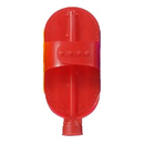 Intrepid International Plastic Curry w/Hose Attachment - Red