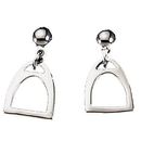 Exselle Stirrup Earrings Smooth