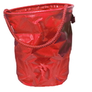 Intrepid International Collapsible Water Bucket Red
