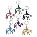 Intrepid International Horse Aluminum Key Rings