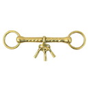 Intrepid International Loose Ring Mouthing Bit w/Players Solid Brass