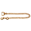Intrepid International Solid Brass Chain - 30