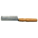 Intrepid International Aluminum Pulling Comb w/ Wood Handle