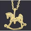 Exselle Rocking Horse Pendant