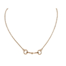 Exselle Snaffle Bit Necklace
