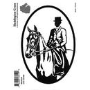 Intrepid International Decal - Side Saddle Rider