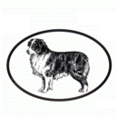 Intrepid International Dog Decal - Australian Shepherd