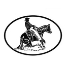 Intrepid International Decal - Reining Horse